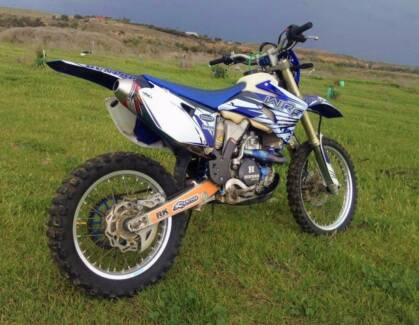 WR 450F Good Condition + Extras