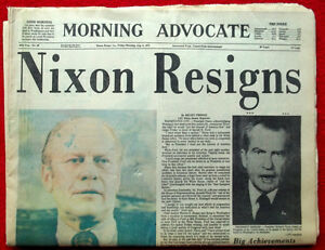 Watergate scandal research paper