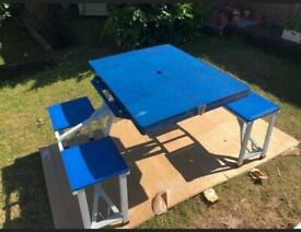 Fold Up Picnic Table Camping Days Out