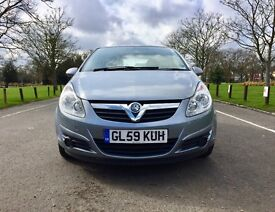 2010 vauxhall corsa exclusiv | Low miles 48,000 only | 5 Doors | Petrol 1.2 | Manual | Corsa