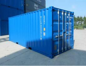 Container storage lockup yard