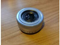 Panansonic 12-32mm F3.5-5.6 OIS pancake lens for micro four thirds cameras - excellent condition