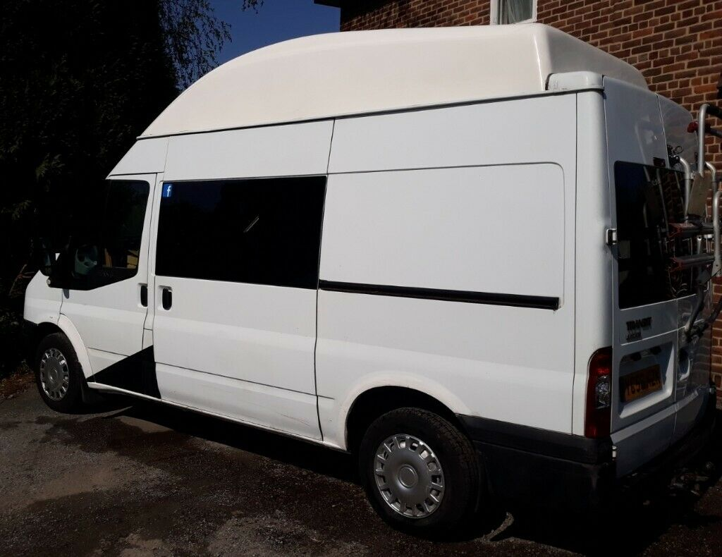 0ffa23a8fc Camper Van   Motorhome. Ford Transit MWB conversion. High roof. Lots of  features. Great engine.