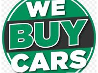 We buy cars sell me your car! Upto £1000