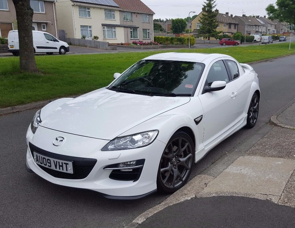 mazda rx8 r3 pearlescent white mot may 2017 full. Black Bedroom Furniture Sets. Home Design Ideas