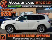2009 Toyota Highlander Hybrid Limited WWW.HOUSEOFCARSCALGARY.COM