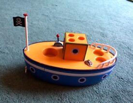 Grandpa Pig Bath Toy Boat