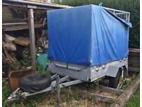 Phoenix Trailer 6x4 Single Axle Caged Not Braked 750kg Galvanised Lockable