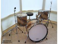 4 Piece Custom Drum Kit with Hardware