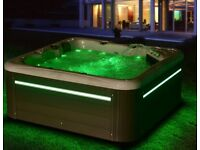 NEW 2020 PALM SPAS MAYA+ LUXURY AMERICAN BALBOA HOT TUB SPA 5 SEAT TWIN LOUNGER JACUZZI 32AMP