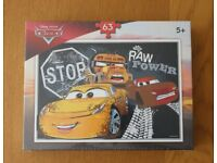 Cars 63 piece jigsaw (brand new and unopened)