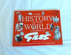 The History of the World According to Giles - HARDBACK Book - like new