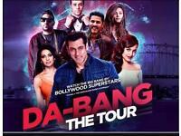 Da- Bangg Tour 2 Tickets for sale- Salman Khan