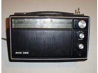 Ekco PT326 Radio - Vintage Retro Collectible Period Electrical