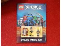 Lego ninjago annual including still sealed mini figs