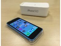 Boxed Blue Apple iPhone 5c 16GB Factory Unlocked Mobile Phone + Warranty