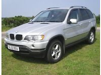 2003 BMW X5 3.0i AUTO LPG DUAL FUEL 4X4 ROAD TAX £285 A YEAR