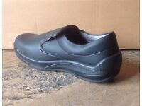 Size 6.5 BRAND NEW JALLATTE Saftey Shoe with Steel Toe Cap