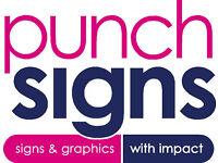 Sign Maker - Cad plotting, large format digital printing, sign making