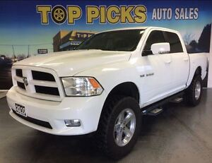 2010 Dodge Ram 1500 SPORT WITH LIFT, 20'S, SUNROOF, AND MORE!