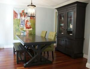 Locally Crafted Reclaimed Wood Dining Table 2295 And More By LIKEN Woodworks