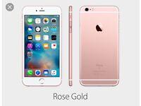 iPhone 6s Plus rose gold cash or swops