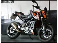 KTM Duke 125cc Low Miles Scorpion exhaust (not Honda Aprilia)
