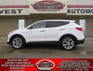 2014 Hyundai Santa Fe Sport 2.0 TURBO AWD, LOADED,  1-OWNER, PAN
