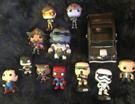 FAST & FURIOUS - Dominic & his car + 10 other POP VINYLs