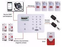 D3D GSM alarm system Touchscreen Wireless Security/Burglar Alarm system Complete Package
