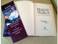 Signed Murray Walker autobiography