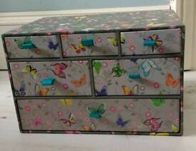 New WHS multi drawer storage unit