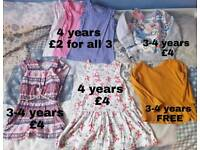 Girls bundle 3-4 and 4-5 years