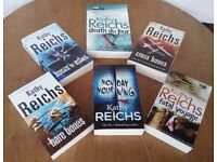 Set of 6 New Kathy Reichs Books