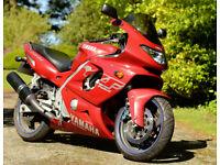 2002 Yamaha YZF600R 'Thundercat' - 17k miles, £1,500