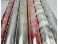 Various Rolls of Christmas Cellophane from 5 -90meters