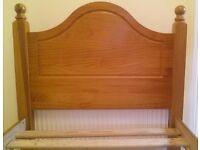 Pine 3ft single bed frame