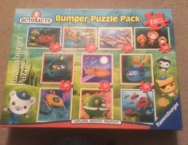 Set of 10 Octonauts jigsaws; 20-49 pieces. Excellent condition