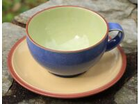 Large Denby Cup and Saucer