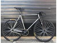 Aphelion 1962 chrome single speed fixie/fixed gear bicycle