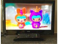 19 Inch HD LCD LED Digital TV USB Freeview HDMI Full HD screen television
