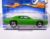 HOT WHEELS '2001 Ed./'1971 Plymouth GTX (1st Ed., Green/Black)'