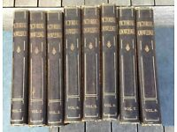 Newnes' Pictorial Knowledge Volumes 1,2,3,4,5,6,7,8 Books (H. A. Pollock - 1932)
