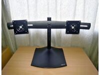 Ergotron DS100 Horizontal Dual-Monitor Desk Stand For Up to 24in Monitors