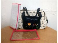 Pink Lining Blooming Gorgeous Changing Bag, Mat & Small Bag RRP £70.