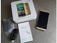 HTC M8 Gold 32gb PayPal & Free P&P