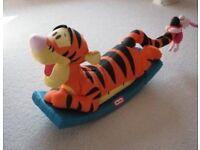 Little tikes tiger rocker - in original box