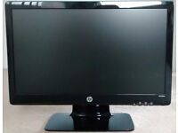 """HP 2011x 20"""" Widescreen LED LCD Monitor"""