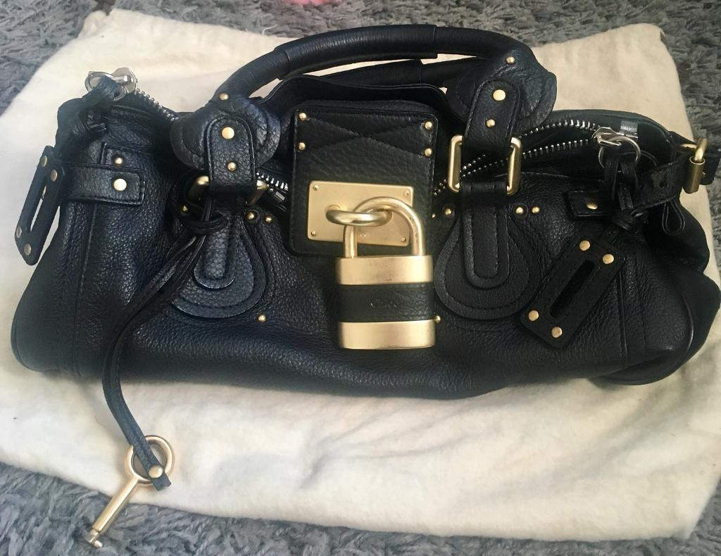 Chloe Paddington Bag Genuine Leather