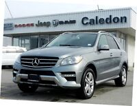 2013 Mercedes-Benz M-Class DIESEL AWD NAV LEATHER SUNROOF BLUETO
